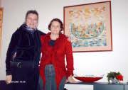 Lilian en Carla voor 'Ship of Love'